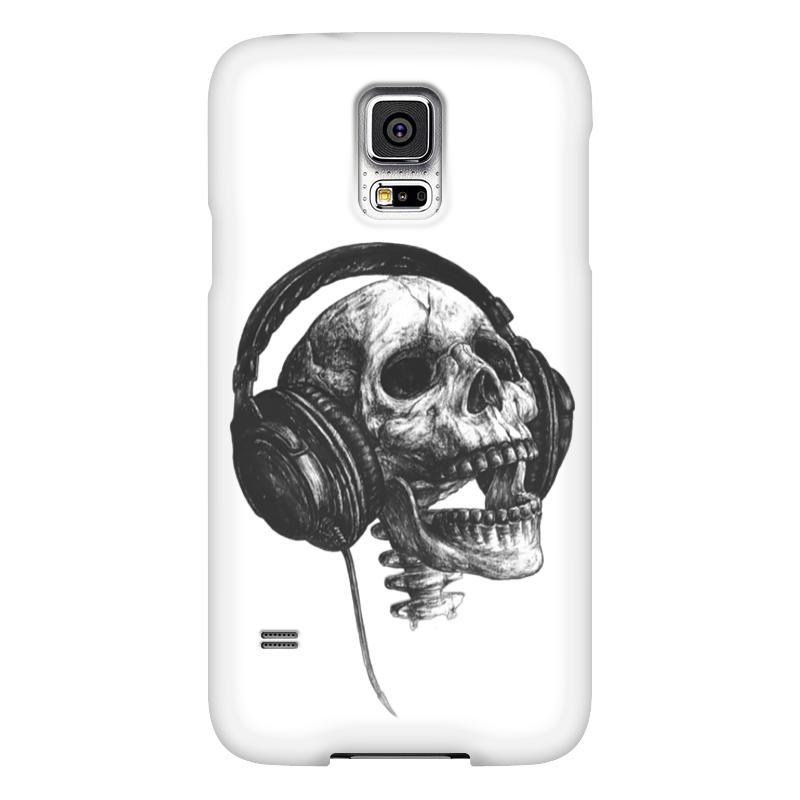 Чехол для Samsung Galaxy S5 Printio Музыка навсегда чехол для samsung galaxy s5 printio череп художник