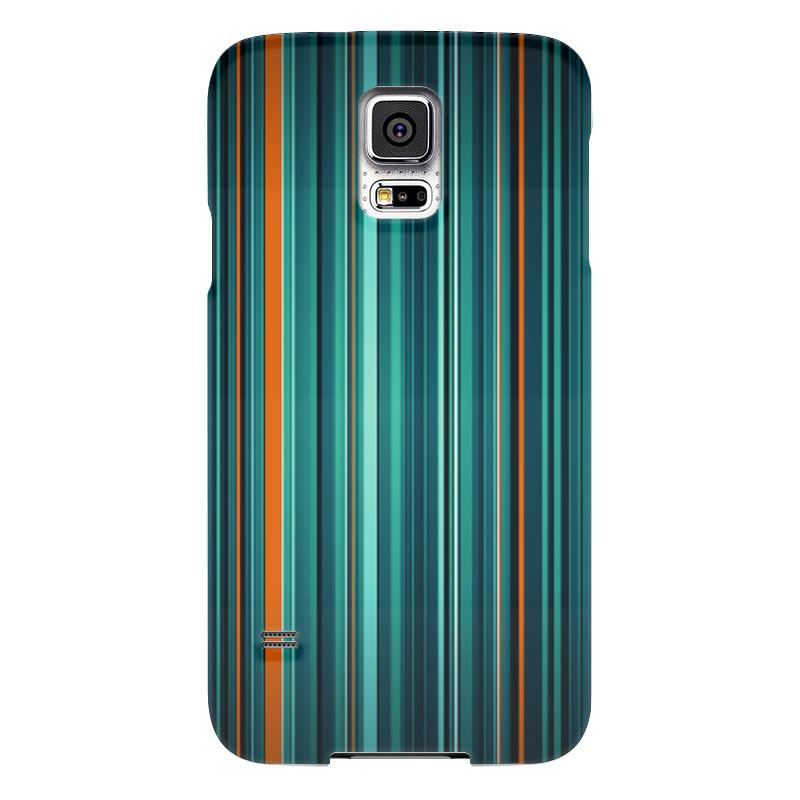 Чехол для Samsung Galaxy S5 Printio Полосатая абстракция samsung g900h galaxy s5 16гб белый в омске