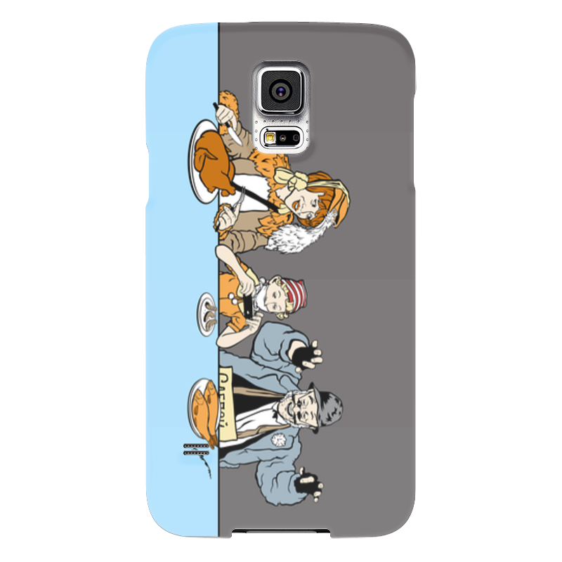 Чехол для Samsung Galaxy S5 Printio Три корочки чехол для samsung galaxy s5 printio череп