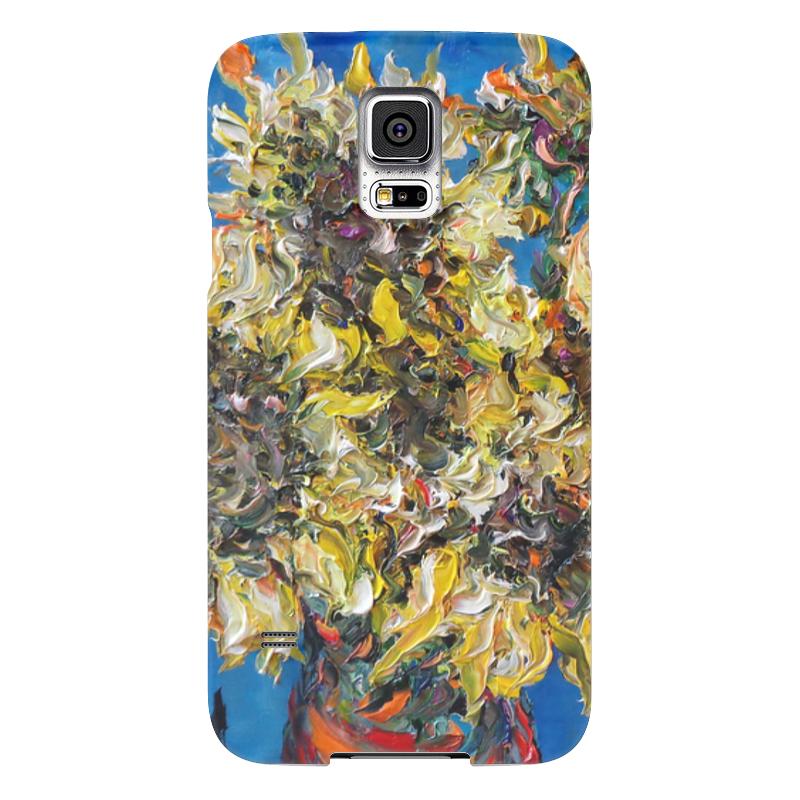 Чехол для Samsung Galaxy S5 Printio Солнце samsung g900h galaxy s5 16гб белый в омске