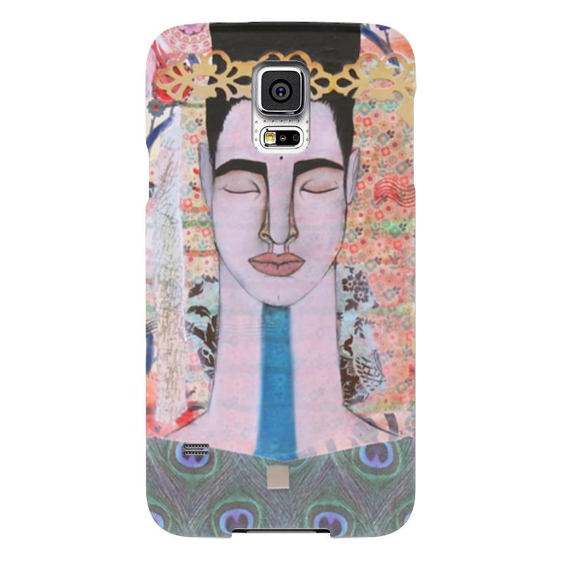 Чехол для Samsung Galaxy S5 Printio Для любителей медитации чехол для samsung galaxy s5 printio череп художник