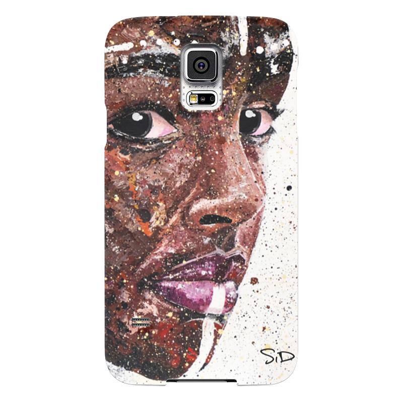 Чехол для Samsung Galaxy S5 Printio Эфиопка серова м вся прелесть стриптиза