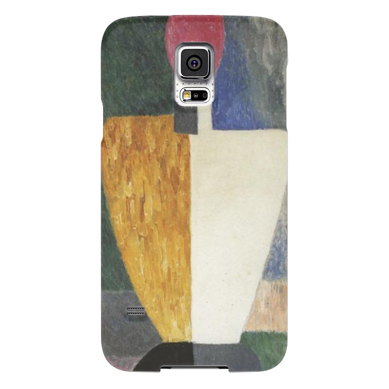 Чехол для Samsung Galaxy S5 Printio Торс (фигура с розовым лицом) (малевич) чехол для samsung galaxy s5 printio череп художник