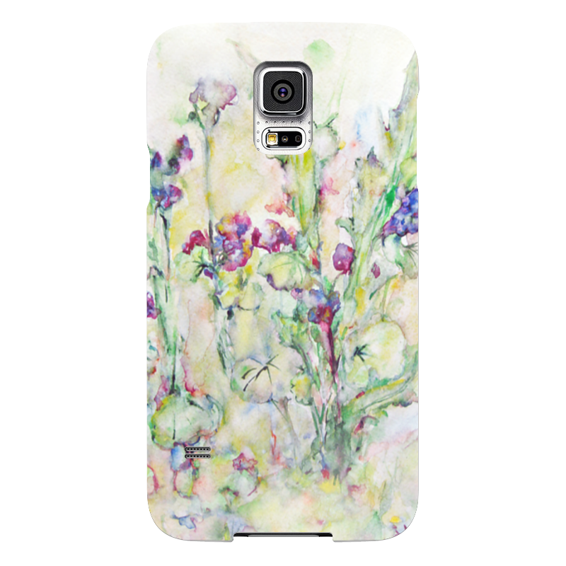 Чехол для Samsung Galaxy S5 Printio Незабудки ключ jtc 4778