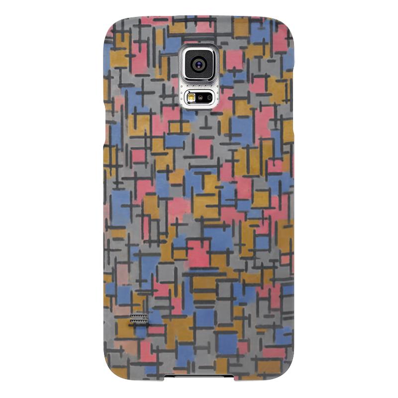Чехол для Samsung Galaxy S5 Printio Композиция (питер мондриан) чехол для samsung galaxy s5 printio бродвей буги вуги питер мондриан