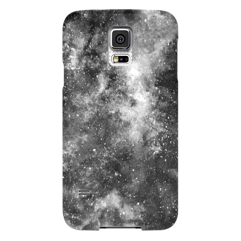 Чехол для Samsung Galaxy S5 Printio Космос (черно-белый) чехол jekod для samsung galaxy s5 белый