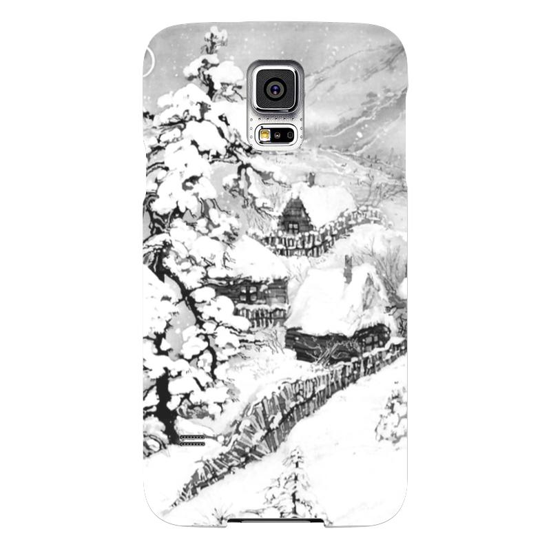 Чехол для Samsung Galaxy S5 Printio Зима samsung galaxy s5 белый