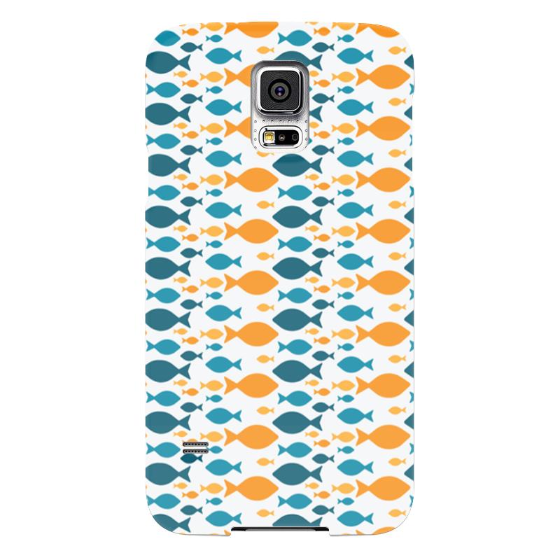 Чехол для Samsung Galaxy S5 Printio Рыбки чехол для samsung galaxy s5 printio ruby rose samsung galaxy s5