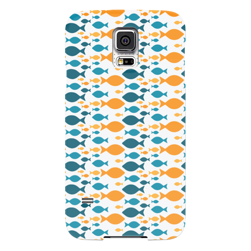 Чехол для Samsung Galaxy S5 Printio Рыбки