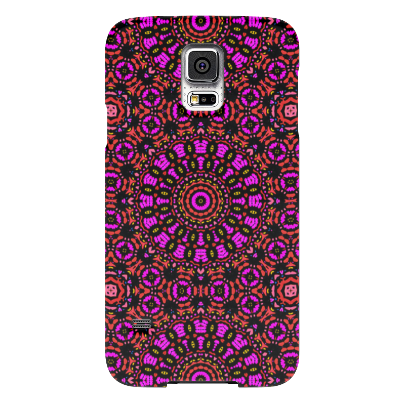 Чехол для Samsung Galaxy S5 Printio Purple samsung g900h galaxy s5 16гб белый в омске