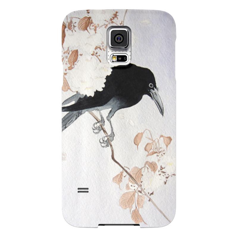 Чехол для Samsung Galaxy S5 Printio Ворон чехол jekod для samsung galaxy s5 белый