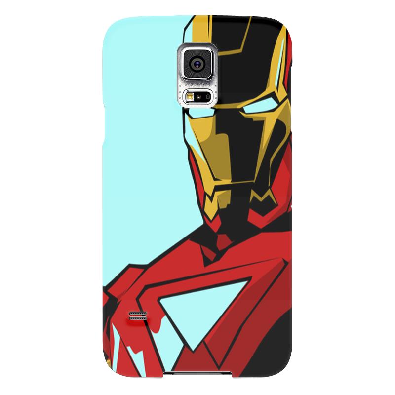 Чехол для Samsung Galaxy S5 Printio Iron man чехол для samsung galaxy s5 printio череп художник