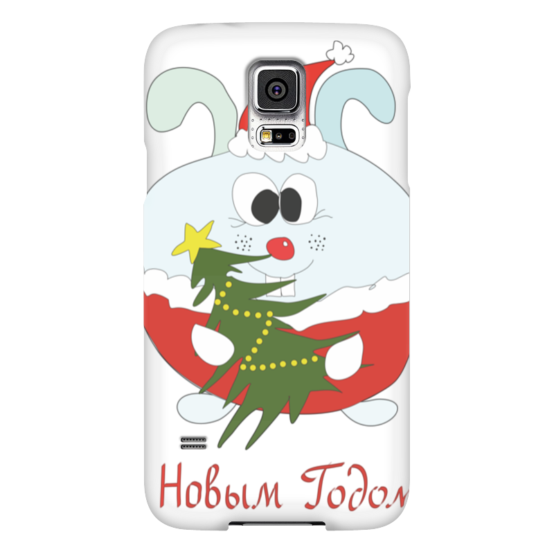 Чехол для Samsung Galaxy S5 Printio Новогодний заяц блокнот printio новогодний лось