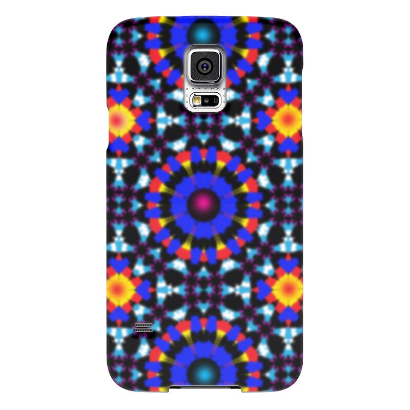 Чехол для Samsung Galaxy S5 Printio Ультрамарин чехол для samsung galaxy s5 printio череп художник