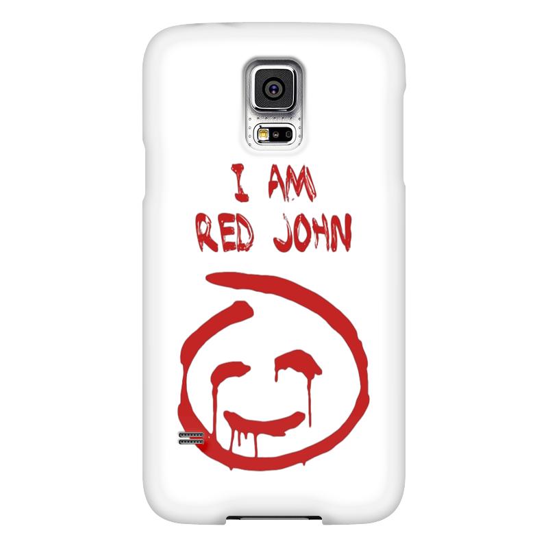 Чехол для Samsung Galaxy S5 Printio Смайлик red john (the mentalist) чехол для samsung galaxy s5 printio череп художник