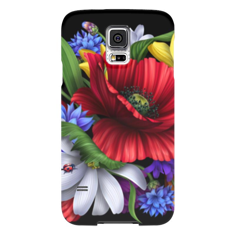 Чехол для Samsung Galaxy S5 Printio Композиция цветов чехол для samsung galaxy s5 printio композиция в сером