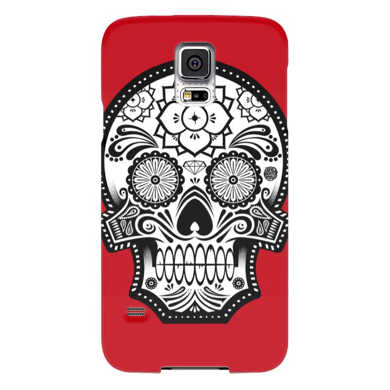 Чехол для Samsung Galaxy S5 Printio Santa muerte skull чехол для samsung galaxy s5 printio skull