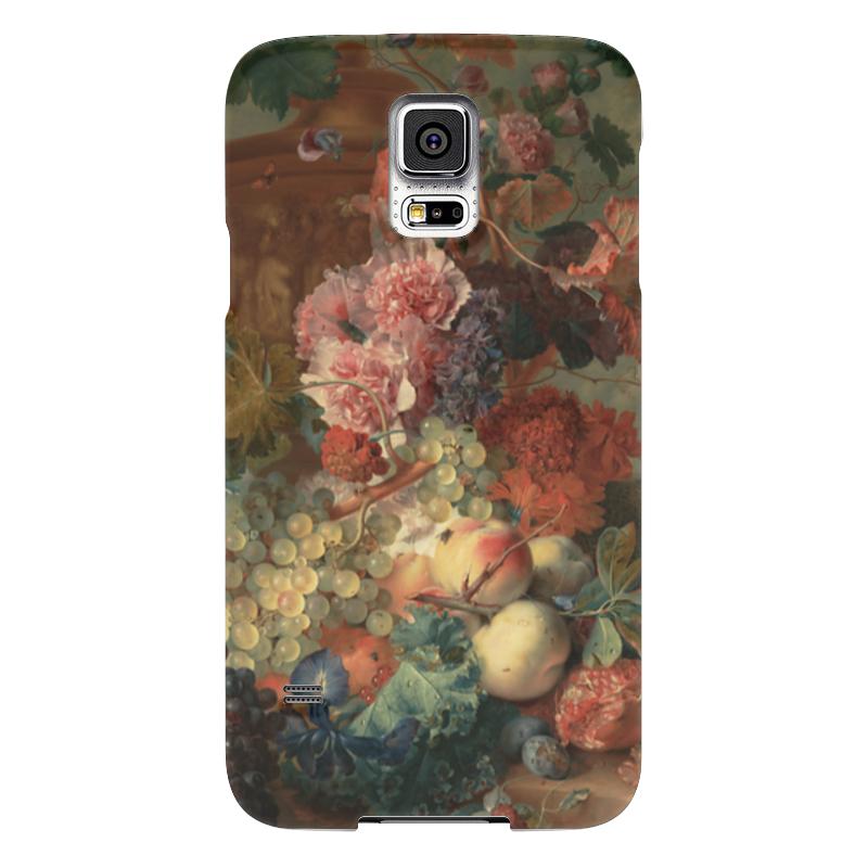 Чехол для Samsung Galaxy S5 Printio Цветы (ян ван хёйсум) чехол для samsung galaxy s5 printio череп художник