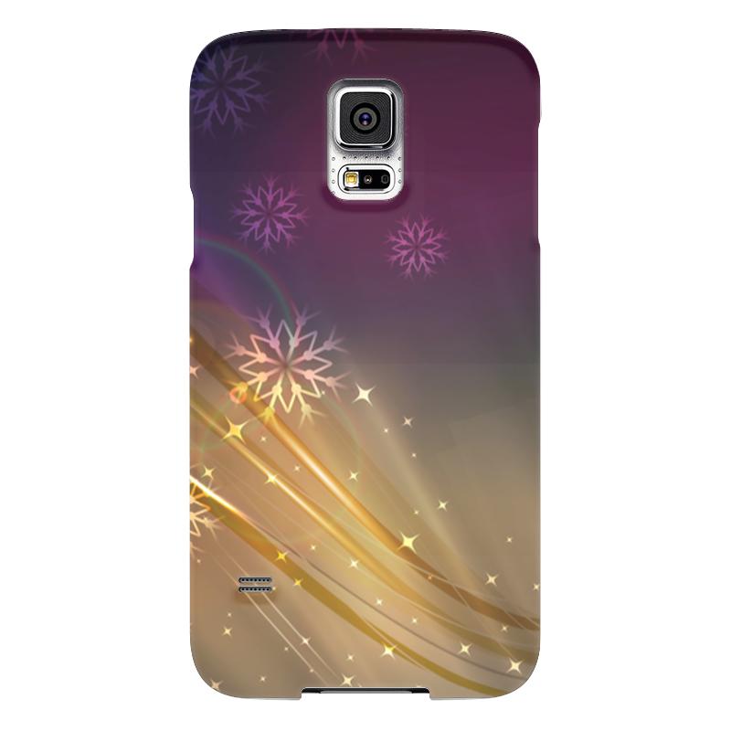 Чехол для Samsung Galaxy S5 Printio Снежная фантазия чехол для samsung galaxy s5 printio череп художник