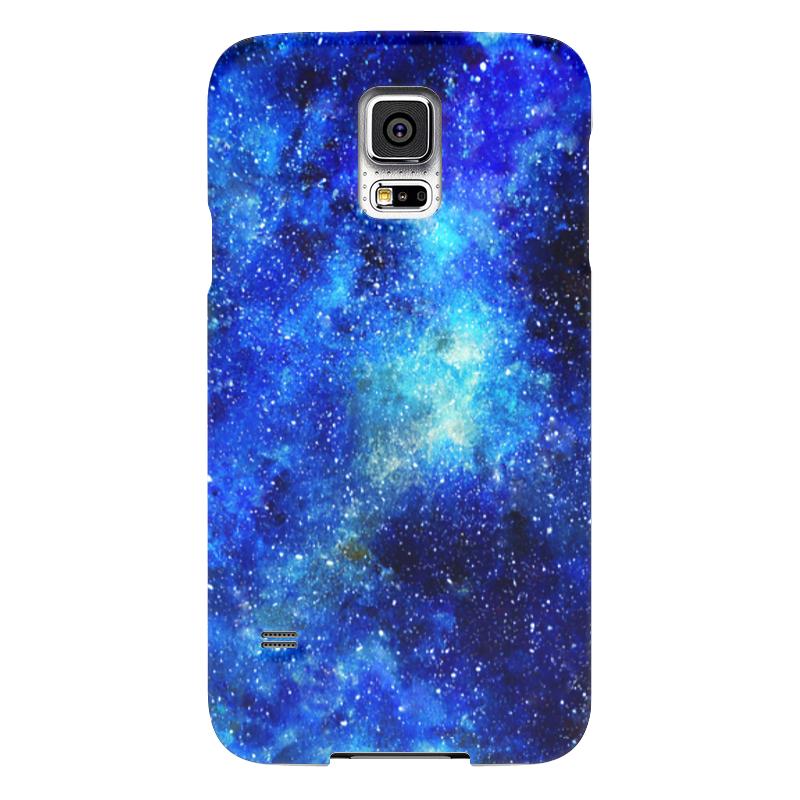 Чехол для Samsung Galaxy S5 Printio Blue space боксмод sigelei fuchai 213w tc blue силик чехол