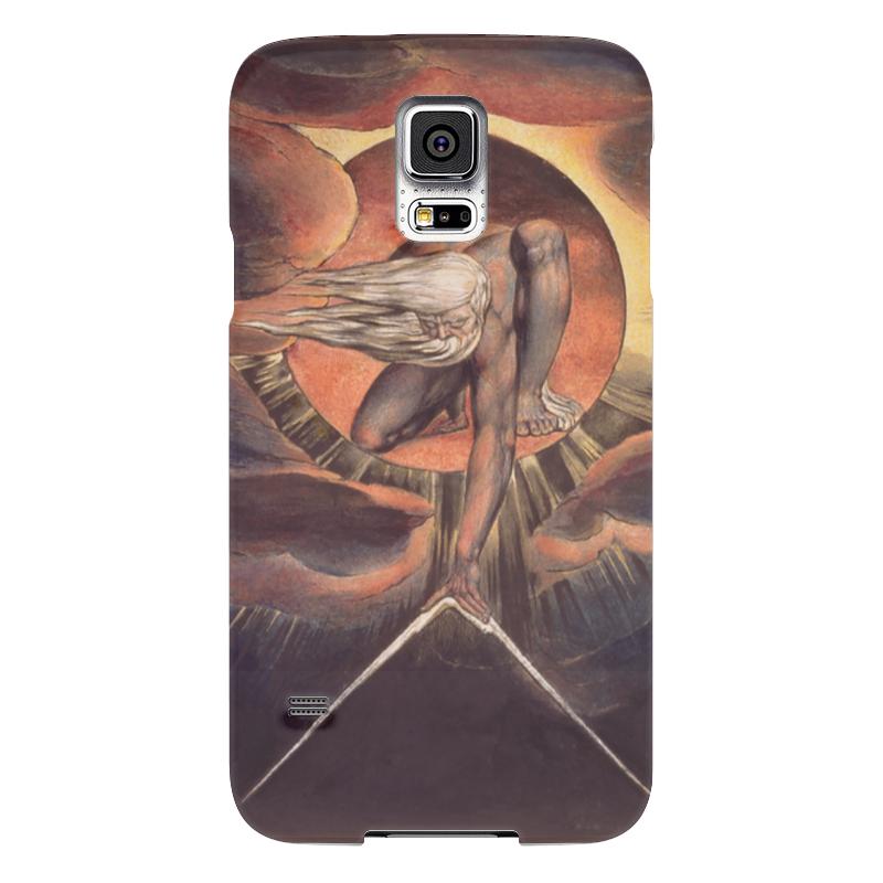Чехол для Samsung Galaxy S5 Printio Великий архитектор (ветхий днями) чехол для samsung galaxy s5 printio череп художник