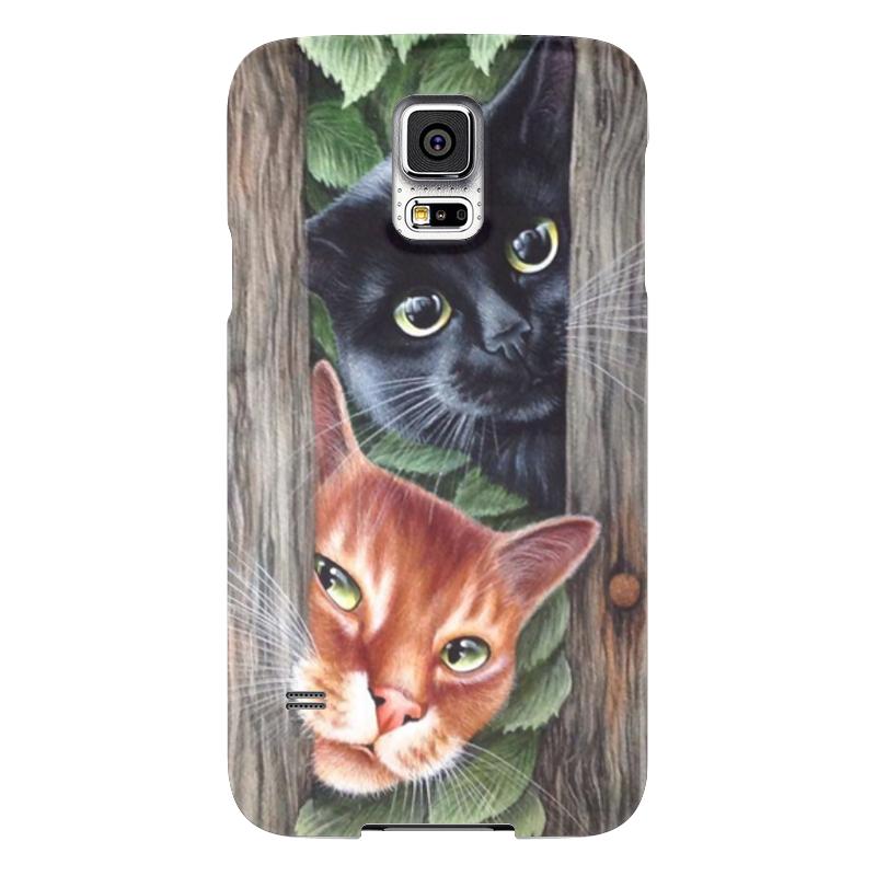 Чехол для Samsung Galaxy S5 Printio Кошки для кошки