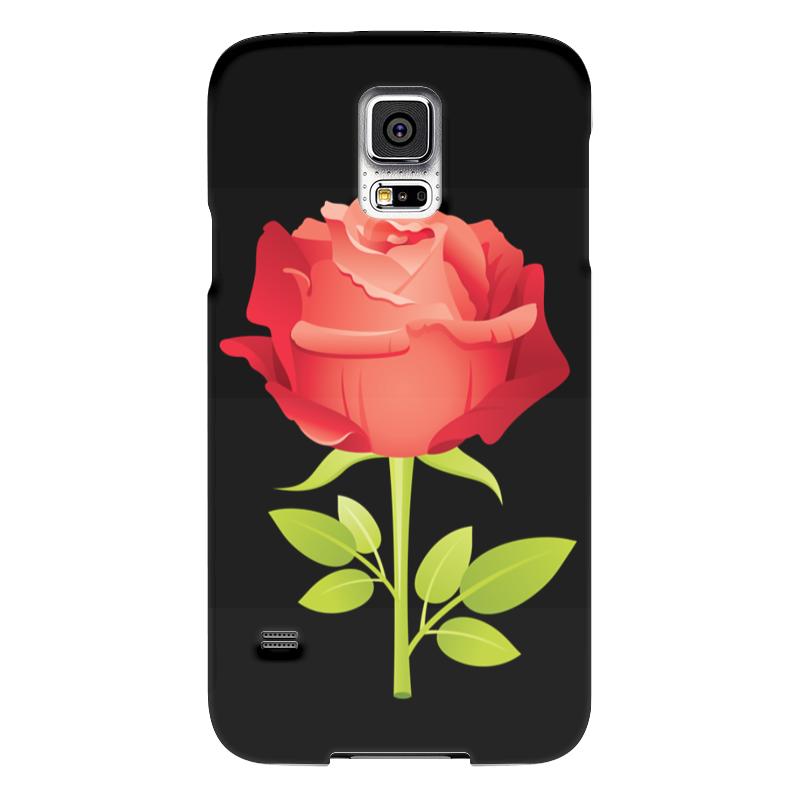 Чехол для Samsung Galaxy S5 Printio Розочка чехол для samsung galaxy s5 printio череп художник