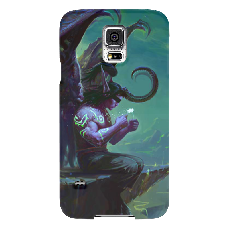 Чехол для Samsung Galaxy S5 Printio Warcraft collection: illidan чехол для samsung galaxy s5 printio череп художник