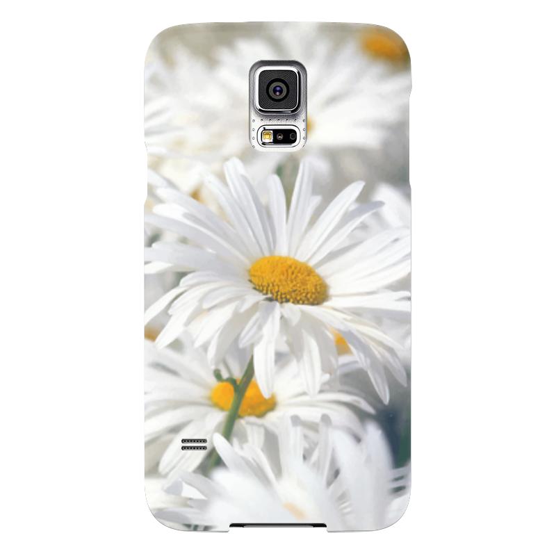 Чехол для Samsung Galaxy S5 Printio Ромашки чехол для samsung galaxy s5 printio череп художник