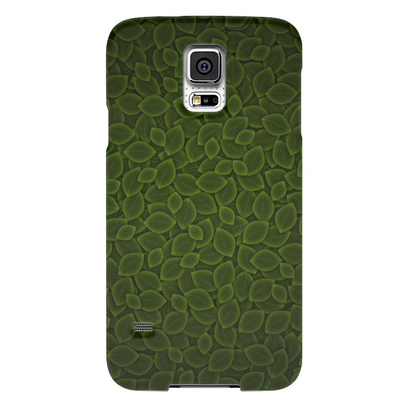 Чехол для Samsung Galaxy S5 Printio Листья чехол для samsung galaxy s5 printio череп художник