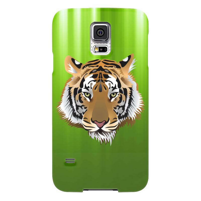 Чехол для Samsung Galaxy S5 Printio Взгляд тигра чехол для samsung galaxy s5 printio тигра
