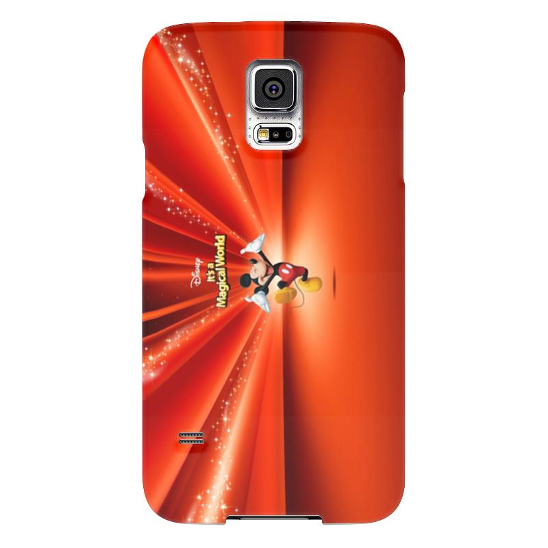 Чехол для Samsung Galaxy S5 Printio Микки маус чехол для iphone 6 глянцевый printio микки маус