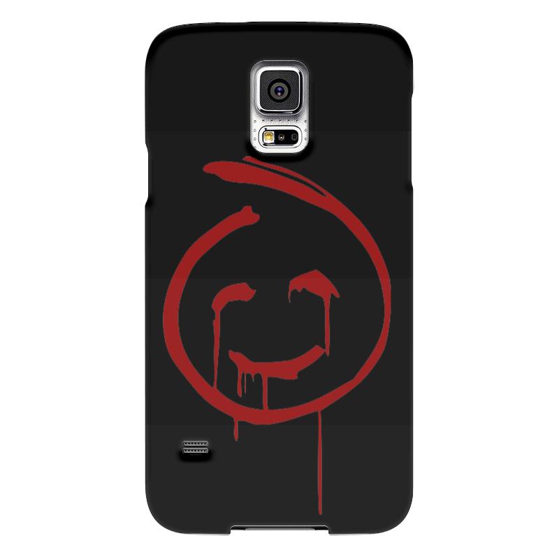 Чехол для Samsung Galaxy S5 Printio Знак кровавого джона из менталиста чехол для samsung galaxy s5 printio череп художник