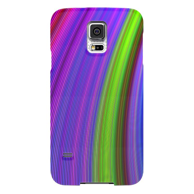 Чехол для Samsung Galaxy S5 Printio Радужная чехол для samsung galaxy s5 printio череп художник