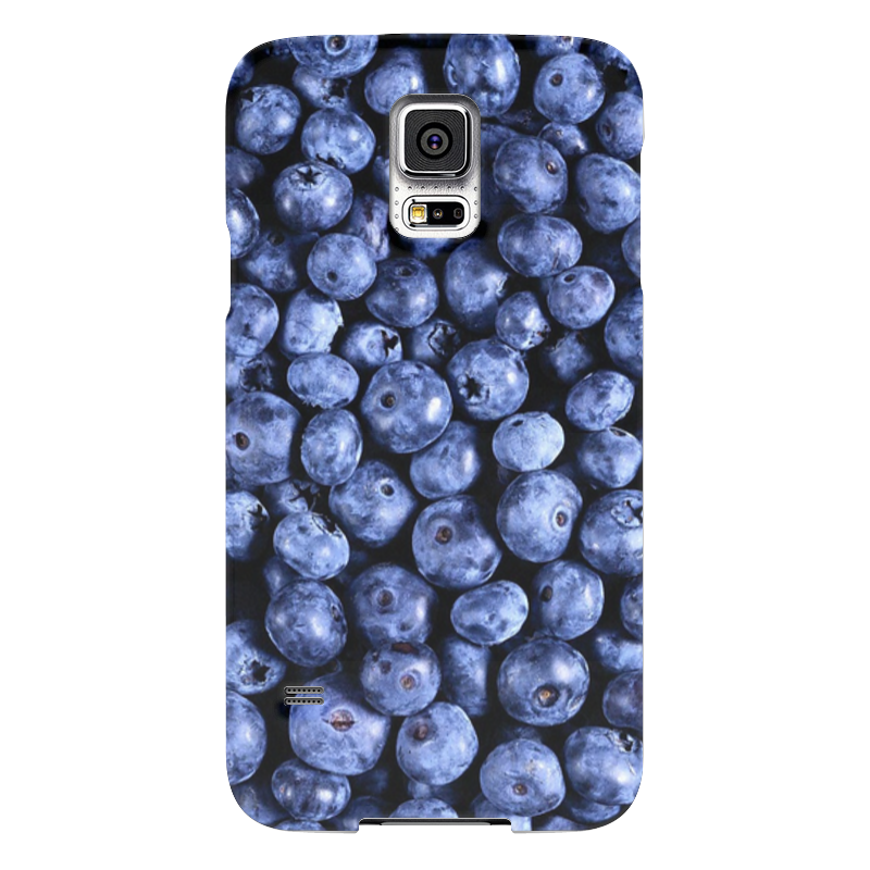 Чехол для Samsung Galaxy S5 Printio Черника купить платье черника