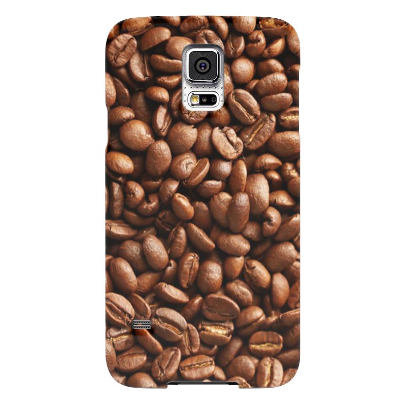 где купить Чехол для Samsung Galaxy S5 Printio Кофейные зерна по лучшей цене