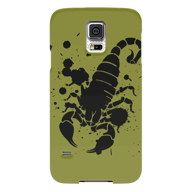 Чехол для Samsung Galaxy S5 Printio Скорпион (24.10-21.11) чехол для samsung galaxy s5 printio череп художник