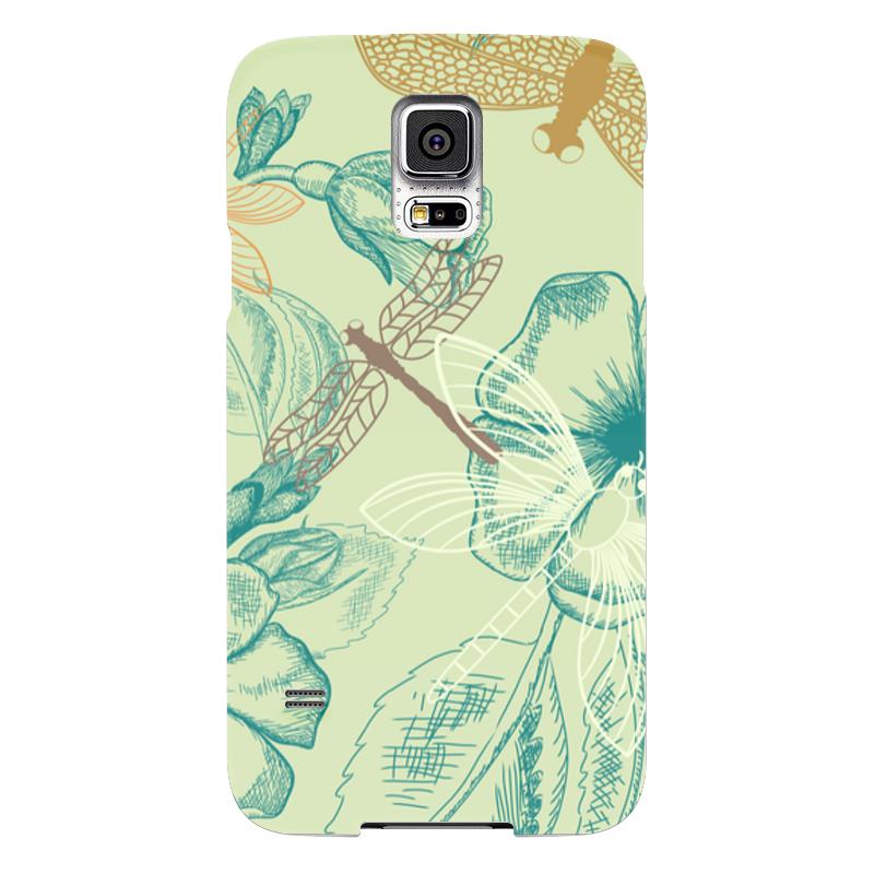 Чехол для Samsung Galaxy S5 Printio Флора и фауна чехол для samsung galaxy s5 printio череп художник