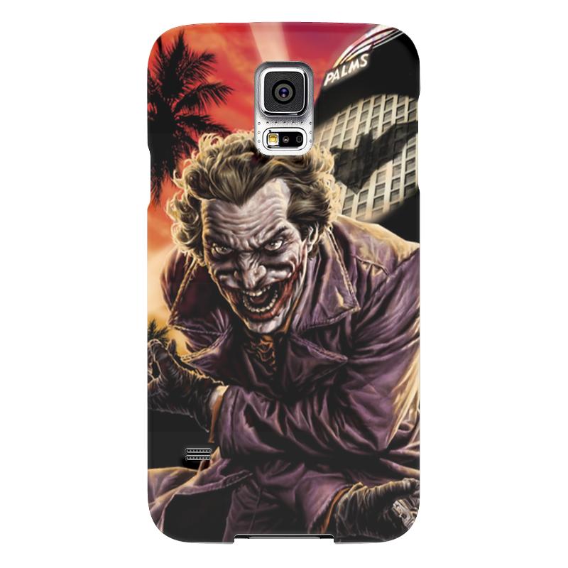 Чехол для Samsung Galaxy S5 Printio Joker чехол для samsung galaxy s5 printio череп художник