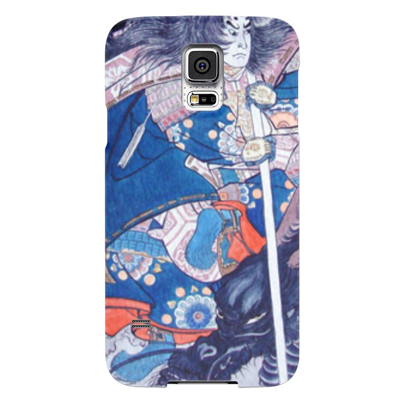 Чехол для Samsung Galaxy S5 Printio Отдых после битвы чехол jekod для samsung galaxy s5 белый