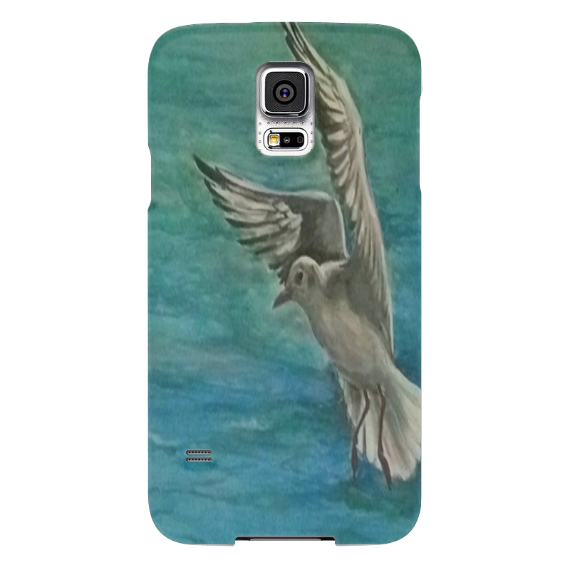 Чехол для Samsung Galaxy S5 Printio Чайка бомбер printio чайка