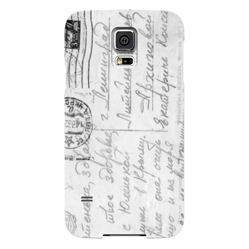 Чехол для Samsung Galaxy S5 Printio Ретро письмо чехол для samsung galaxy s5 printio барселона на samsung galaxy s5
