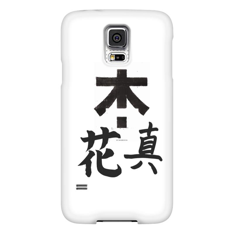 Чехол для Samsung Galaxy S5 Printio Япония. минимализм чехол для samsung galaxy s5 printio череп художник