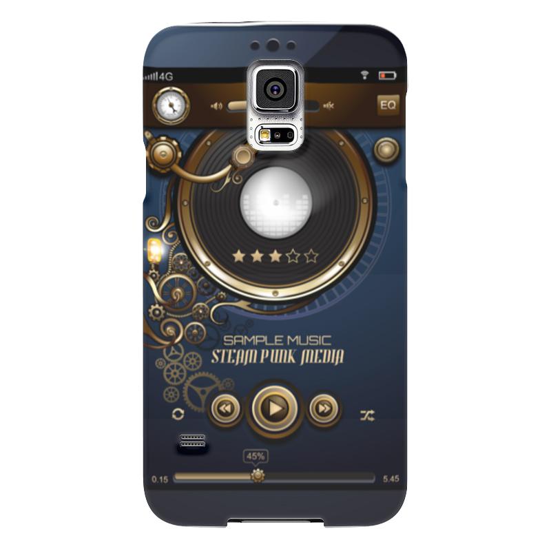 Чехол для Samsung Galaxy S5 Printio Стимпанк-музыка