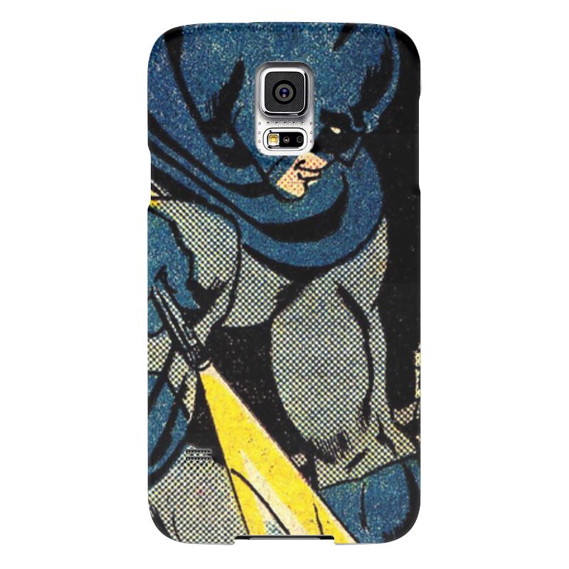 Чехол для Samsung Galaxy S5 Printio Бэтмен чехол для samsung galaxy s5 printio череп художник