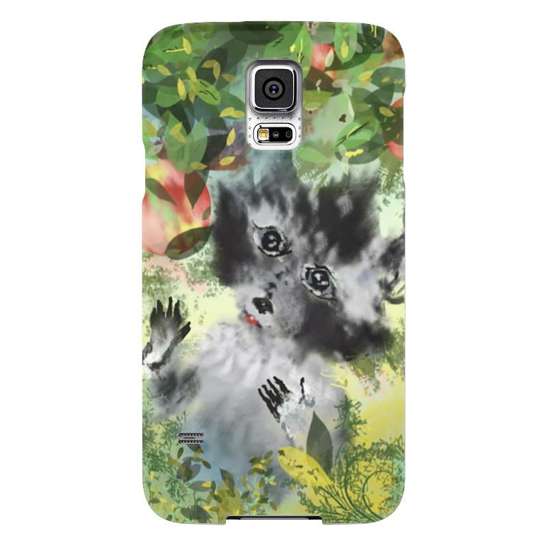 Чехол для Samsung Galaxy S5 Printio Енот лакомка чехол для samsung galaxy s5 printio череп художник