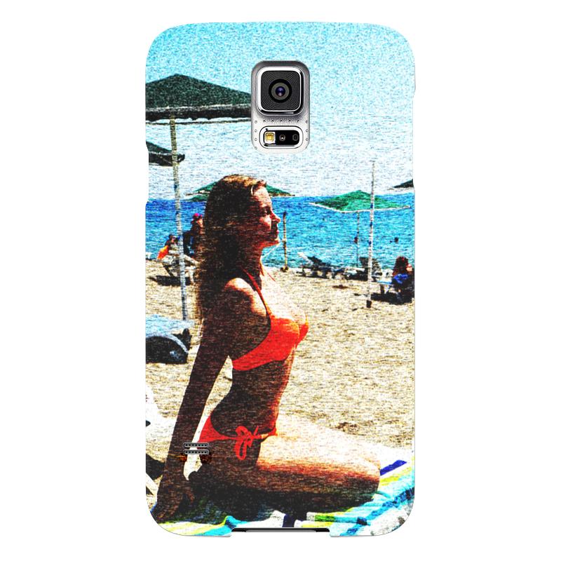 Чехол для Samsung Galaxy S5 Printio Пляж чехол для samsung galaxy s5 printio череп художник