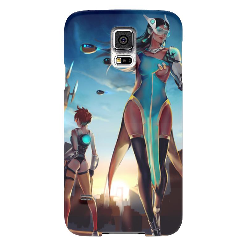 Чехол для Samsung Galaxy S5 Printio Овервотч samsung g900h galaxy s5 16гб белый в омске