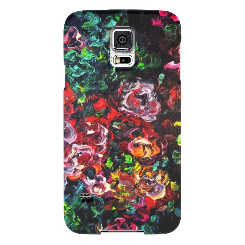 Чехол для Samsung Galaxy S5 Printio Розовый куст кaт влaгоустойчивый вечнозеленый куст купить