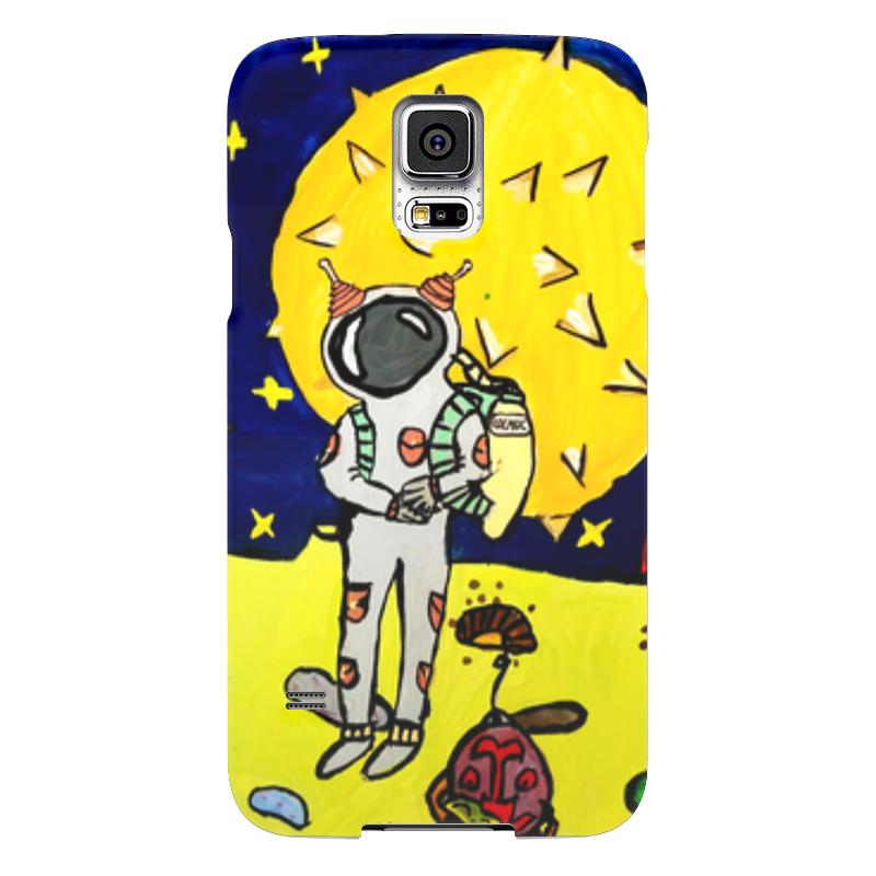 Чехол для Samsung Galaxy S5 Printio Космические сны samsung g900h galaxy s5 16гб белый в омске